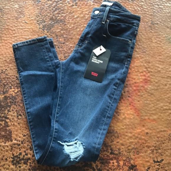 Levi's Denim - {Levi's} 721 High-Rise Skinny Jeans. Size 27.